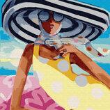 Картина По Номерам. BRUSHME КОКТЕЙЛЬ На Пляже GX29730