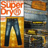 фирменные джинсы Superdry, оригинал W34 L34