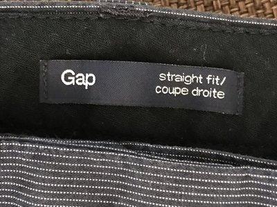 Gap, р.32-32 отличные летние классические брюки, хлопок, прямой крой