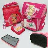 Комплект для девочки и мальчика рюкзак, пенал, сумка для сменной обуви