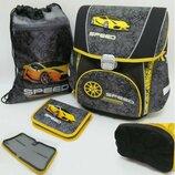 Комплект рюкзак, пенал, сумка для сменной обуви для мальчика и девочки. Подростковый ортопедический