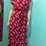 Элегантное Женское Летнее платье макси Котэ 44,46,48,50 размер