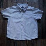Шведка, рубашка с коротким рукавом Marks&Spencer, 4-5 л.,109
