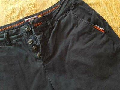 Шорты фирменные джинсовые Superdry р.48 size 32