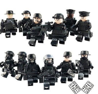Фигурки, человечки, солдаты, спецназ лего аналог