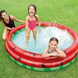 Intex 58448 Арбуз бассейн детский надувной Интекс
