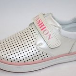 Туфли Том.м 1081Е Fashion бело-розовый