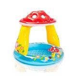 Intex Грибочек 57114 детский надувной бассейн с навесом Интекс