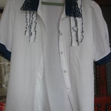 блузка очень легкая на размер XXL