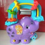 Развивающий слоник со звуками