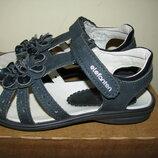 Босоножки сандалии шкіряні брендові Elefanten Оригінал Німеччина р.32 стопа 20,5 см