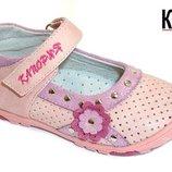 Кожаные туфли Калория SY5217F крохи ромашка 21-26