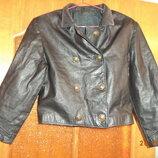 Куртка-Пиджак натуральная кожа, р.40-42