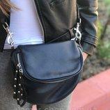 женская кожаная итальянская сумка черная серая синяя жіноча шкіряна сумка чорна сіра синя