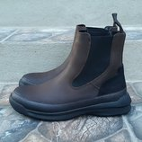 Кожаные демисезонные ботинки сапоги Pirelli 39 р. Оригинал