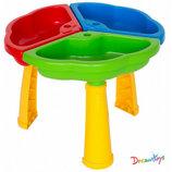 Игровой столик песочница, 50 30см, Тм Wader 39481