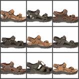 Акция кожаные мужские сандалии restime Р. 40-45 полномерные