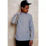 Сорочка/рубашка Adidas Leopard Graphic Oxford Shirt