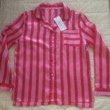 Рубашка пижамная шелковая на рост 152см