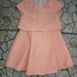 Нарядное платье Мазакея на девочку 3-4 года