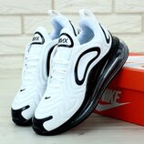Женские кроссовки Nike Air Max 720 White Black