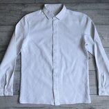 Сорочка/рубашка Cos Textured White Shirt