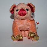 красивая игрушка свинка ty pig 2000 год винтаж оригинал сша