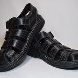 Сандалии босоножки Wellon shoes мужские. Кожа. Оригинал. 42 р./26.5 см.