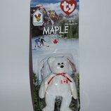 коллекционный мишка tyteenie original beanie canada 1999 год винтаж новый в упаковке