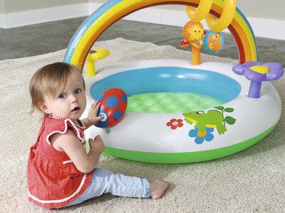 Бассейн 52239 Детский. Дитячий басейн. Надувной бассейн. Надувний басейн.