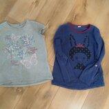 реглан кофта футболка Бемби для девочки 128р