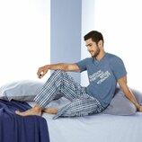 Летний комплект, мужская пижама, домашний костюм, Livergy Германия XXL