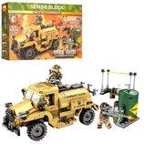 Конструктор Sembo 101302 Аналог Лего Lego Военный транспорт 284 детали