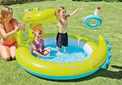Детский бассейн Крокодил Intex 57431