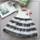 Нарядное платье для девочки р.90-120