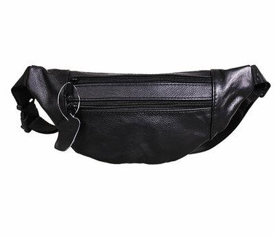 Бананка - сумка на пояс мужская 100% натуральная кожа 158683