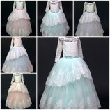 Нарядные бальные детские платья Оптом