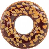 Надувной круг Intex 56262 Пончик с орехами 114 см