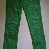Летние зеленые штаны