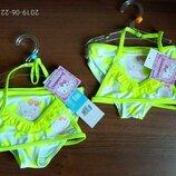Желтые Китти купальники для девочек Дисней