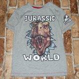 футболка с динозавром 7-8 лет большой выбор одежды
