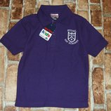 новая хлопковая футболка 3-4 года поло с воротничком большой выбор одежды