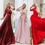 Обалденные платья из Шелка Армани