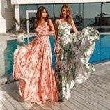 Великолепные платья из шелка Армани