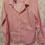 Базовая рубашка в полоску блуза