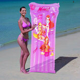 Матрас надувной Winx 92013 Bestway для девочек