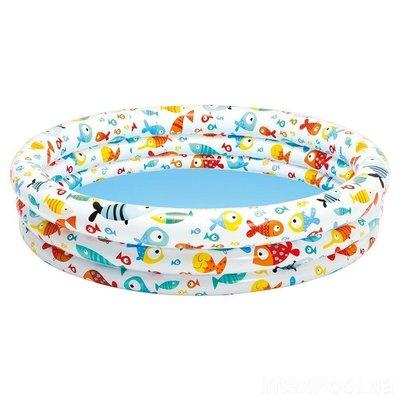 Надувной бассейн Рыбки 59431, Intex.