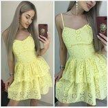 Платье летнее батистовое