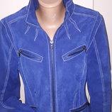 евро 36 куртка замша Heine рукав от плеча 62 плечи 42 под подмышками спереди 48 пот 45 внизу 48 дли
