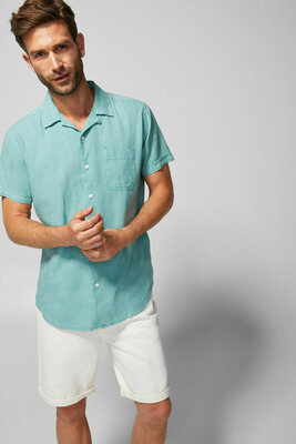 Рубашка льняная мужская Springfield Испания